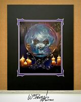 Jasmine Becket Griffith Disney Haunted Mansion Madame Leota WonderGround Print