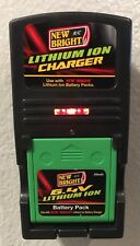 New Bright R/C 6.4v 500mAh Lithium ION Battery Pack + A587500493 Charger Combo