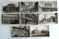8 x ROMA Rom Rome Italien ~1910/20 Bauwerke Gebäude Cartolina Italiana Italy Lot