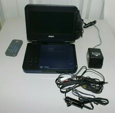 Rca Portable Dvd Player (Drc6338) W/ Case. Car Charger, Remote - Tested