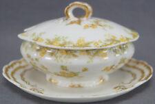 Rare Haviland Limoges J Mc D & S Co Boston The Venetia Pattern Miniature Tureen