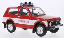 Modelcar Group Lada Niva Feuerwehr rot red 1:18 Limited Edition MCG18006