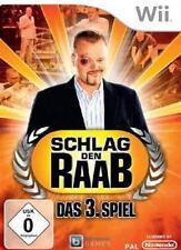 NINTENDO Wii SCHLAG DEN RAAB TEIL 3 * KOMPLETT DEUTSCH * Neuwertig