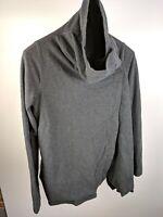 LULULEMON Cocoon Wrap Jacket Gray Sweater Sz 6 999