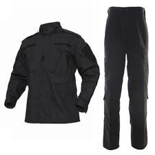 Tactical Army Combat Workout Uniforms Suit Set Shirts & Pants Paintball Jackets