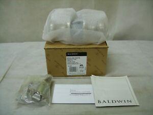 BALDWIN - Keyed Entry Lockset - Tahoe Knob - PVD Satin Nickel - 5223.056.ENTR
