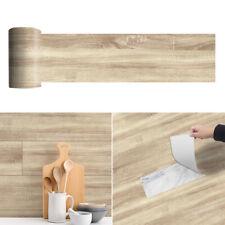 1 Roll  20 * 300cm Wood Grain Adhesive Vinyl Floor Tiles Self Stick On Flooring
