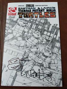 Remarked By Eastman - Teenage Mutant Ninja Turtles - Volume 1 Number 1 - Reprint