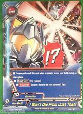 Buddyfight English H-PP01/0064EN U I Won`t Die From Just That!