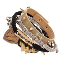 DC Comics Wonder Woman Arm Party Bracelet Set