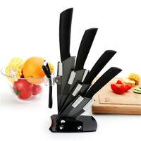 """Cuisine Céramique Set Couteaux  3 """"4"""" 5 """"6"""" Supporter Couteau Chef Porte-couteau"""