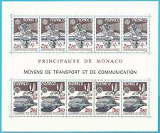 Principato di Monaco da 1988 ** Post freschi blocco 39 MiNr. 1859-1860 - Europa: trasporto!