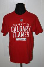 Reebok Calgary Flames Mikka Kiprusoff Red Pullover Jersey Tee Shirt M