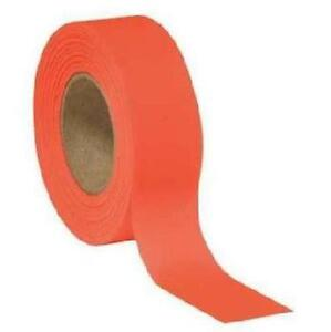 Allen Blaze Orange Hunting Hiking Trail Marking Flagging Tape 150' Roll