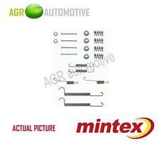 MINTEX REAR BRAKE SHOES SET FITTING KIT PIN SPRINGS GENUINE QUALITY - MBA630