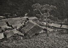 1929 TAIWAN Vintage Photo Gravure URAI TAYAL TRIBE Landscape Asian Art By GRAEFE