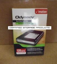 NEW Imation 120GB Hard Disk Cartridge ODYSSEY Removable 26444 Factory Sealed