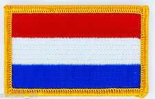PATCH ECUSSON BRODE DRAPEAU HOLLANDE PAYS BAS  INSIGNE THERMOCOLLANT NEUF FLAG