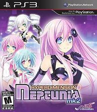 Hyperdimension Neptunia mk2 ( PlayStation 3 PS3 ) BRAND NEW MK 2