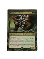 The Gitrog Monster ALTERED ART MTG EDH Hand Painted Commander Halloween It Clown