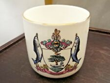 VINTAGE  W H GOSS CUP  CRESTED GLASGOW