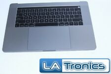 """New Apple Macbook Pro A1707 2016 15"""" Gray Touch Bar Top Case Keyboard Assembly"""