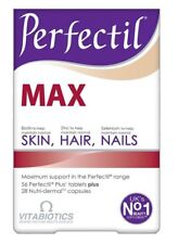 Vitabiotics Perfectil Max Support Healthy Skin Hair Nails Nutri-Demal (84)