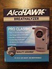 AlcoHawk Pro Classic Breathalyzer Digital Breath Alcohol Detector