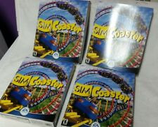 Sim Coaster CD Game Windows PC - Big Box (Lot of 4)