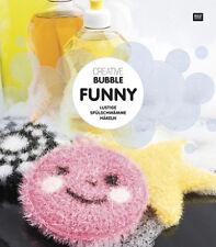 Rico Creative Bubble Funny Spülschwämme häkeln -Häkelanleitung 978-3-96016-052-6