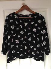 Women NEXT cropped blouse size 18