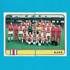 AJAX TEAM - 2 STICKERS PANINI VOETBAL 82 - 1982 - ROOKIE RIJKAARD - VERY RARE