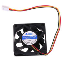 1Pc 6010 60MM 60*60mm Cooling Fan 12V 3Pin Cooler Heatsink Mini Fan Gw