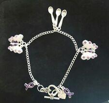 Fibromyalgia/Lupus Awareness Bracelet NEW VERSION