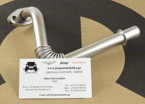 Turbo Oil Drain Tube Jeep Wrangler JK 07-18 2.8CRD 68027496AA New OEM Mopar