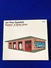 NEW Jan Prax Quartett - Keepin' A Style Alive  (2015) Jazz CD Promotional Copy