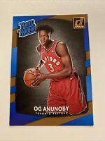 2017-18 Panini Donruss NBA Rated Rookie OG Anunoby Toronto Raptors RC #178