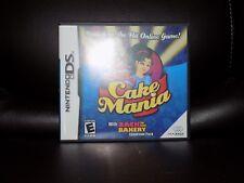 Cake Mania (Nintendo DS, 2007) EUC