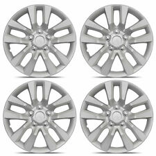 """4-Pack of 16"""" Rim & Tire Protection Hub Caps Car Wheel Cover Replacement"""