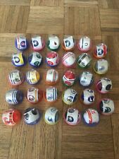 Vintage 1980'S Lot 29 NFL Mini Football Helmets Gumball Machine plastic Mix