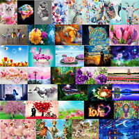 40x30cm 5D DIY Full Drill Diamond Painting Cross Stitch Embroidery Kit Mosaic KZ