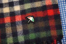 ARNOLD PALMER WOOL SCARF PLAID CHECK UMBRELLA
