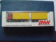 AWM  5838.01   Volvo FH12  Wechselkoffer Hängerzug  Deutsche Post AG  1:87