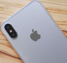 Grey Color Changer Overlay for Apple iPhone 8 and 8 Plus Logo Vinyl Decal