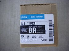 Box of 5 Eaton Cutler Hammer 30a 2 Pole Breakers BR230