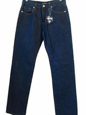 Stussy Men's Demin Classic Indigo Jeans Size 30 X 29