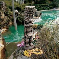 Polynesian Tiki Totem Party Gods Statue Pool Spa Tropical Island Luau Patio