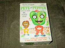 1960's Hasbro - Pete the Pepper with Mr. Potato Head Set - Exc/NM + Bonus Carrot