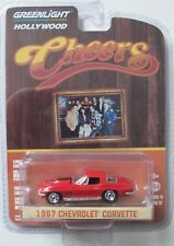 GREENLIGHT HOLLYWOOD 17 CHEERS TV SHOW SAM'S 1967 CHEVROLET CORVETTE