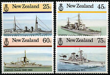 New Zealand 1985 SG#1379-1382 Naval History MNH Set #D41195